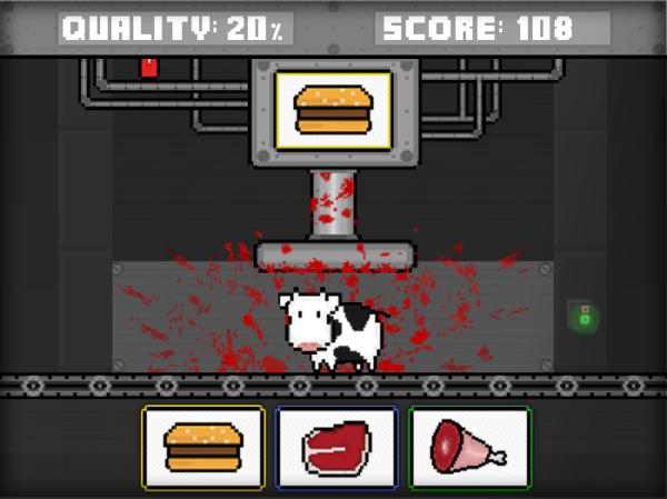 Cow Crusher by GameTheNews.net - click to play.