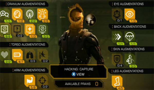 Deus Ex: Human Revolution Upgrade Image