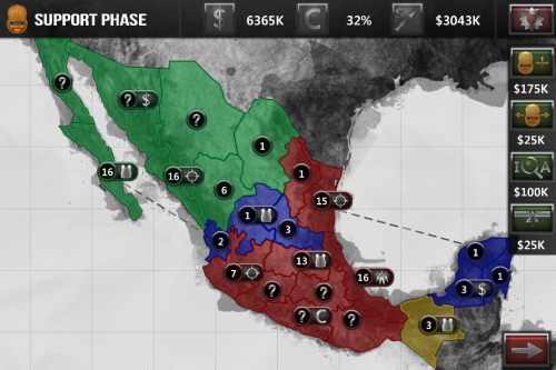 Screenshot from NarcoGuerra