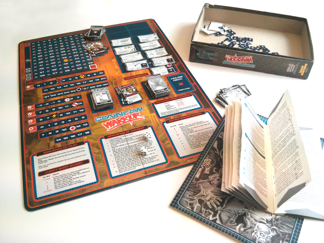 Chainsaw Warrior Original Board Game